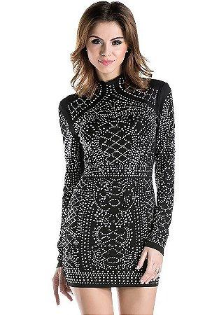 Vestido Sexy Geometric
