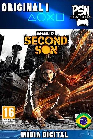 INFAMOUS SECOND SON - PSN PS4 - MÍDIA DIGITAL