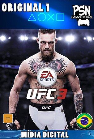 EA SPORTS™ UFC® 3 Standard Edition - PSN PS4 MÍDIA DIGITAL