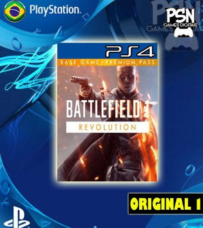 BATTLEFIELD 1 REVOLUTION BF1 - PSN PS4 MÍDIA DIGITAL