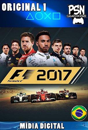 F1 2017 FORMULA 1 - PSN PS4 MÍDIA DIGITAL