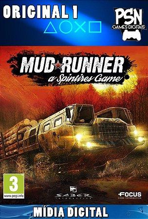 SPINTIRES MUDRUNNER - PSN PS4 MÍDIA DIGITAL