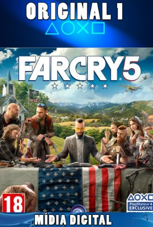 FAR CRY 5 - PSN PS4 - MÍDIA DIGITAL