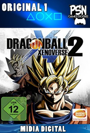 DRAGON BALL XENOVERSE 2 - PSN PS4 - MÍDIA DIGITAL