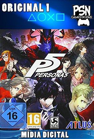 PERSONA 5 - PSN PS4 - MÍDIA DIGITAL