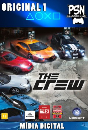THE CREW - PSN PS4 - MÍDIA DIGITAL