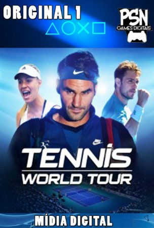 TENNIS WORLD TOUR - PSN PS4 - MÍDIA DIGITAL