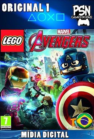 LEGO MARVEL'S AVENGERS - PSN PS4 - MÍDIA DIGITAL