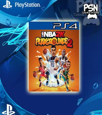 NBA 2K Playgrounds 2 - Psn Ps4 Mídia Digital