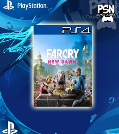 Far Cry New Dawn - Psn Ps4 Mídia Digital