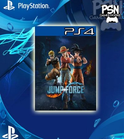 Jump Force - Psn Ps4 Mídia Digital