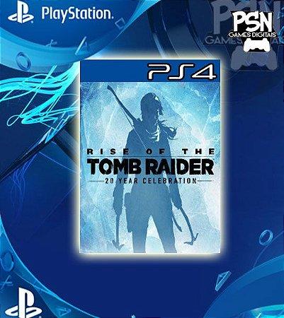 Rise Of The Tomb Raider - Psn Ps4 Mídia Digital