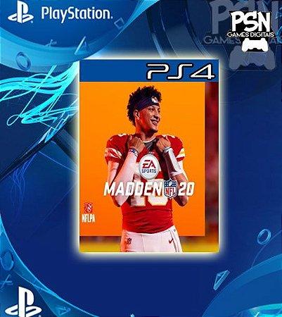 Madden NFL 20 Standard Edition - Psn Ps4 Mídia Digital
