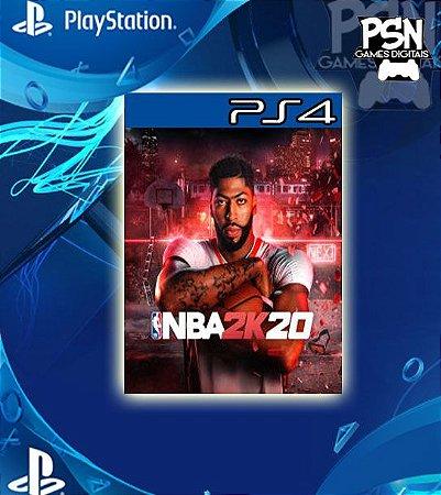NBA 2K20 - Psn Ps4 Mídia Digital