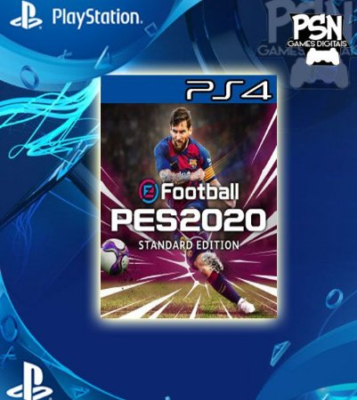 eFootball PES 2020 Standard Edition - Psn Ps4 Mídia Digital