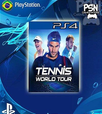 Tennis World Tour - Psn Ps4 Mídia Digital