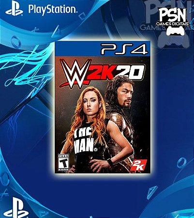 WWE 2K20 - Psn Ps4 Mídia Digital
