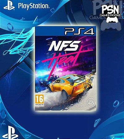 Need for Speed Heat Standard Edition - Psn Ps4 Mídia Digital