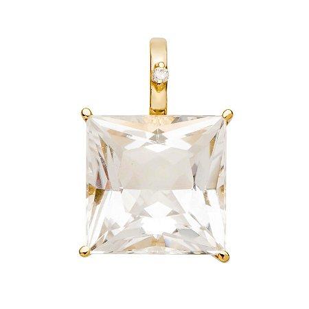 Pingente de Ouro - Cristal - Pedra - Preciosa - Carre - incrível