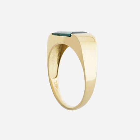 Anel de Ouro18k - Turmalina - Pedra Preciosa - Desejo