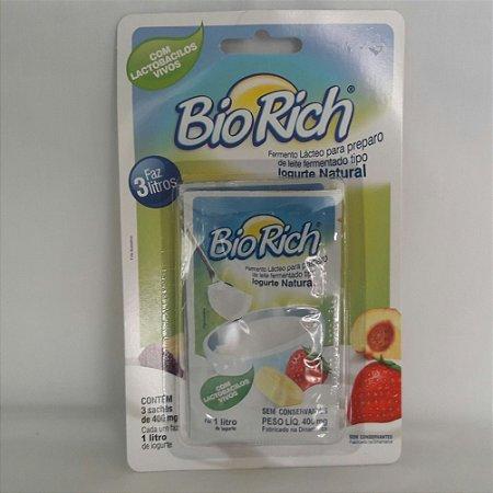 Fermento Lácteo Bio Rich (3 sachês)