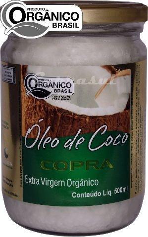 Óleo de Coco Extravirgem Orgânico (500ml)