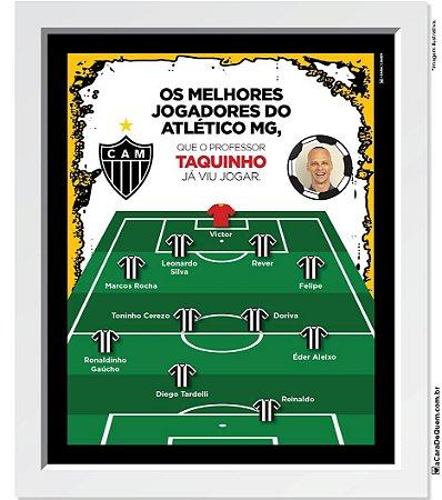 Quadro Personalizado Pai - Seleção Atlético MG
