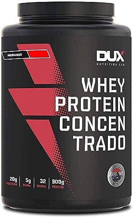 Whey Protein Concentrado Morango - 900g
