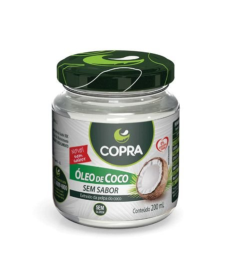 Óleo de Coco Sem Sabor 200 mL Copra