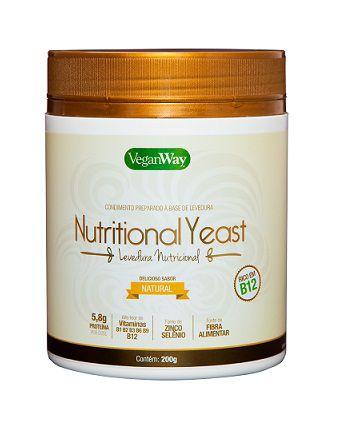 Levedura Nutritional Yeast Sabor Natural - 200g