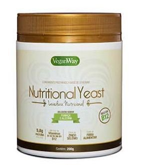 Levedura Nutritional Yeast Sabor Fumaça e Alecrim 200g - VeganWay