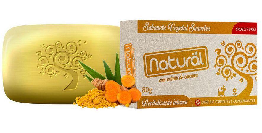 Sabonete Curcuma 80g- Orgâncio Natural