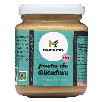Pasta de Amendoim com Açúcar de Coco 200g - Monama