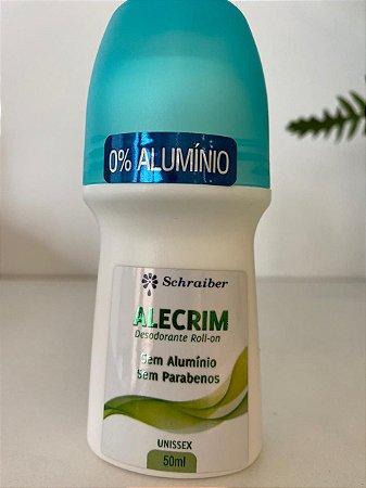 Desodorante sem Aluminio Alecrim - Schraiber 50ml