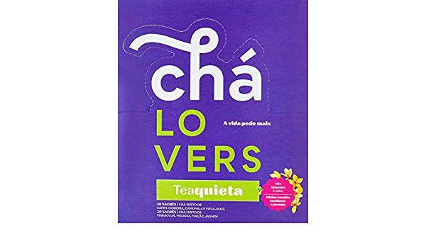 Chá LOVERS Teaquieta 60 sachês
