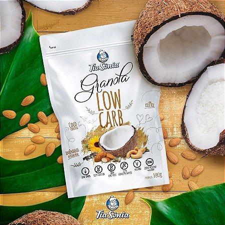 Granola Low Carb 180g -  Tia Sônia