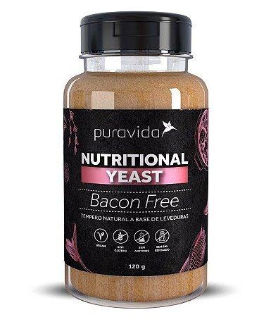 Nutritional Yeast Sabor Bacon 120g - Pura Vida