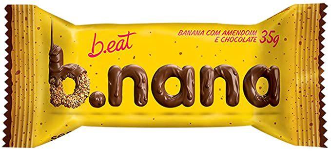 Bnana de amendoim e chocolate 35g - Beat