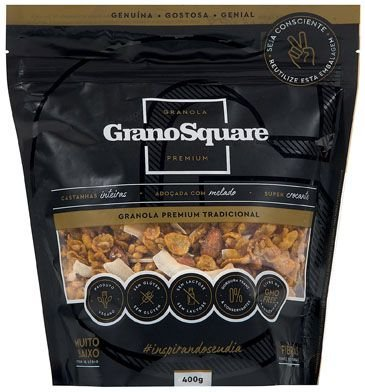 Granola  Tradicional Premium Grano Square  400g