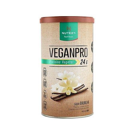 VeganPro Proteína Vegetal Baunilha 550g Nutrify