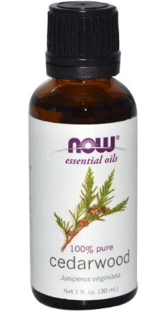 Óleo Essencial de Cedro 30ml - Now Foods