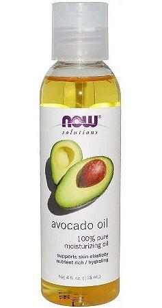 Óleo de Abacate - 118 ml (4 fl oz) Now  Foods