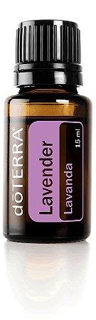 Óleo Essencial Lavender - Lavanda (15ml) 100% Puro Importado