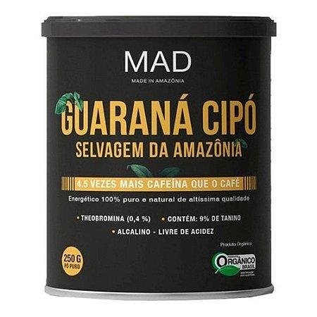 Guaraná Cipó Orgânico MAD 250g
