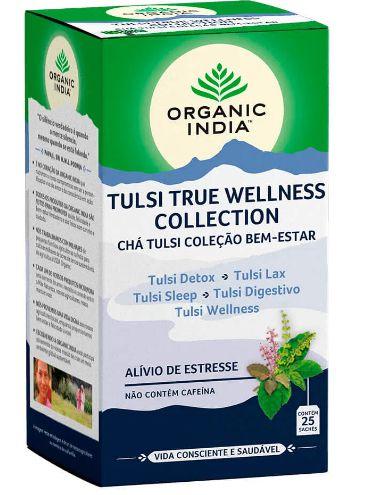 Chá Coleção Bem Estar 25 Sachês - Organic India
