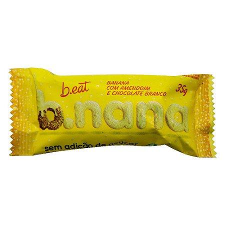 B.nana com Chocolate Branco - B.eat 30g