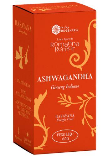 Ashwagandha Viva Regenera - Linha Ayurveda Romanna