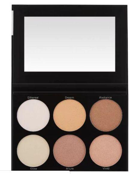 Paleta de Iluminadores BH Cosmetics - 6 Cores