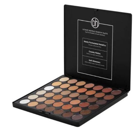 Paleta de Sombras Ultimate Neutrals BH Cosmetics - 42 Cores