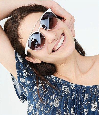 Óculos Feminino Branco Aeropostale